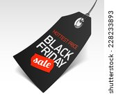 black friday sale price tag.... | Shutterstock .eps vector #228233893