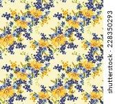 elegance seamless flower...   Shutterstock . vector #228350293