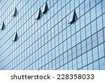 facade of a modern business... | Shutterstock . vector #228358033