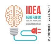 Human Brain In Light Bulb...