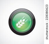 agriculture glass sign icon...