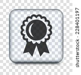 award pin on transparent square ... | Shutterstock .eps vector #228401197