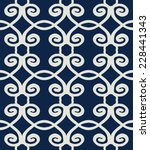 classic light grey seamless... | Shutterstock .eps vector #228441343