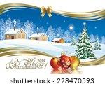 Christmas Card With Christmas...