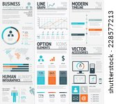 business graphics data... | Shutterstock .eps vector #228577213