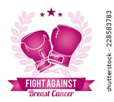 breast cancer graphic design  ... | Shutterstock .eps vector #228583783