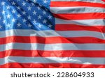 flag background of the united... | Shutterstock . vector #228604933