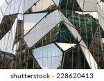 gemetric glass facade     save... | Shutterstock . vector #228620413