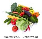 fresh vegetables | Shutterstock . vector #228629653