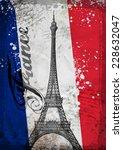 Hand Drawn Eiffel Tower. Vecto...
