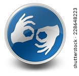 icon  button  pictogram with... | Shutterstock . vector #228648223