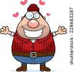 a cartoon illustration of a... | Shutterstock .eps vector #228683287