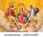 ������, ������: The fresco of Coronation