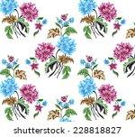 beautiful wallpaper with...   Shutterstock .eps vector #228818827