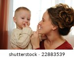 happy mother with the son | Shutterstock . vector #22883539