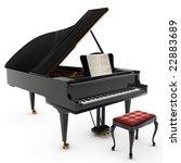 a beautiful classic grand... | Shutterstock . vector #22883689