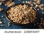 Small photo of Organic Raw Farro Grain in a Bowl