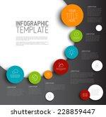 vector infographic timeline... | Shutterstock .eps vector #228859447