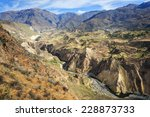The Canyon Colca Is The Deepes...