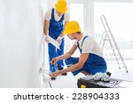 building  renovation ... | Shutterstock . vector #228904333