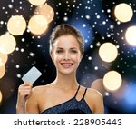 shopping  christmas holidays ... | Shutterstock . vector #228905443