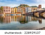 view at the bosa in sardinia  ... | Shutterstock . vector #228929137