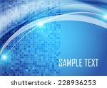 blue abstract background | Shutterstock .eps vector #228936253