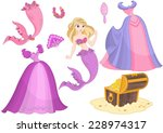 mermaid princess dress up
