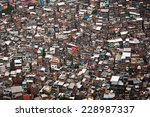 favela da rocinha  the biggest... | Shutterstock . vector #228987337