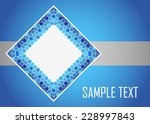 blue abstract background | Shutterstock .eps vector #228997843