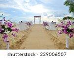wedding setup | Shutterstock . vector #229006507