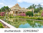 vinh tranh pagoda in my tho ... | Shutterstock . vector #229028467