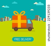 vector free delivery concept in ...
