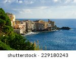 the village of erbalunga  in... | Shutterstock . vector #229180243