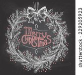 Hand Lettering Merry Christmas...