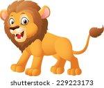 cartoon lion  | Shutterstock .eps vector #229223173
