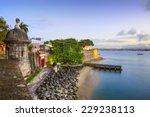 San Juan  Puerto Rico Old City...