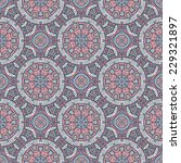 seamless indian pattern.... | Shutterstock .eps vector #229321897