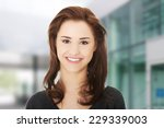 portrait of happy young casual... | Shutterstock . vector #229339003