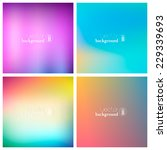 abstract colorful smooth... | Shutterstock .eps vector #229339693