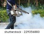 fogging mosquito to prevent of... | Shutterstock . vector #229356883