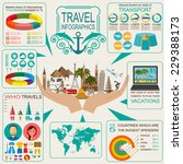 travel. vacations. beach resort ...   Shutterstock .eps vector #229388173