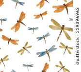 Dragonfly  Watercolor ...