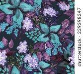 floral seamless pattern   Shutterstock . vector #229398247