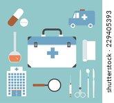 emergency doctor illustration | Shutterstock .eps vector #229405393