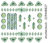 Elements For Tribal Vector...
