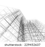 construction architecture 3d... | Shutterstock . vector #229452637