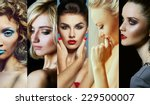 collage  mosaic  of fashionable ... | Shutterstock . vector #229500007