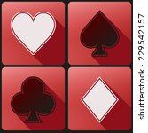 basic playing cards suit simple ...