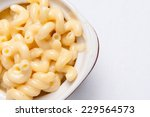 Small photo of macaroni noodles and cheese made from scratch